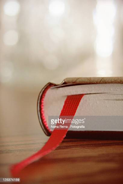 Ribbon in side big book