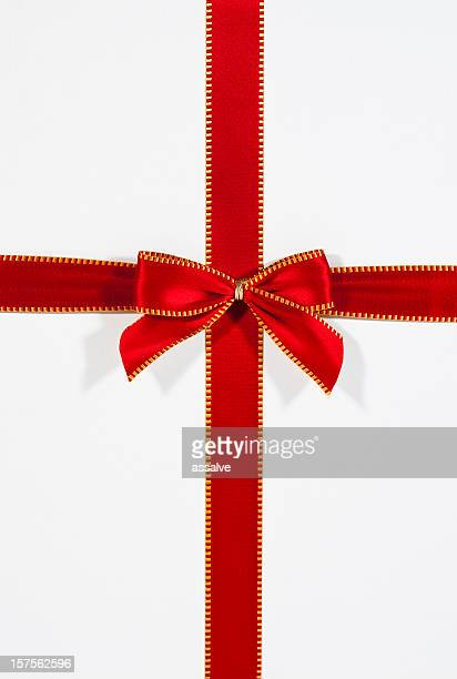 ribbon present - ribbon sewing item stock pictures, royalty-free photos & images