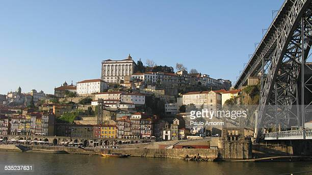 Ribeira at Douro River in Portugal