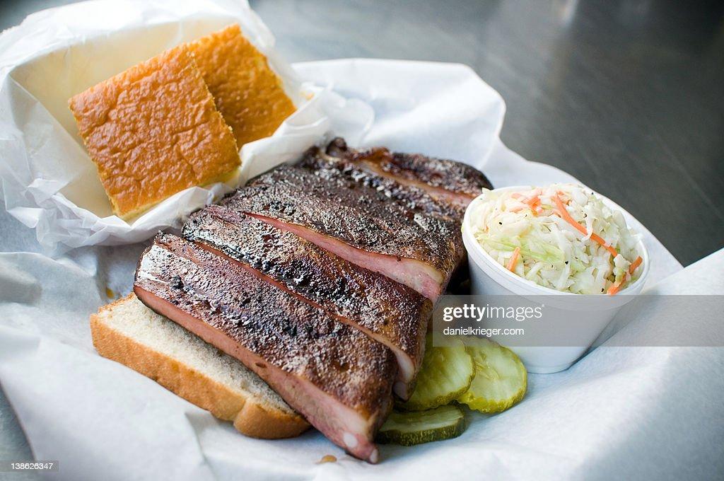 BBQ Ribs : Stock Photo