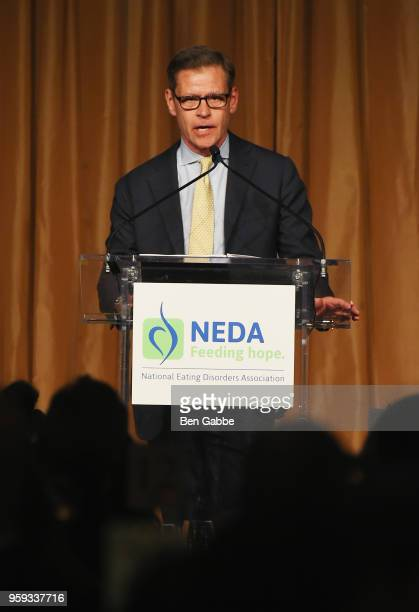 Ric Clark speaks onstage during the National Eating Disorders Association Annual Gala 2018 at The Pierre Hotel on May 16 2018 in New York City