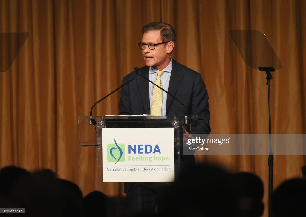 Ric Clark speaks onstage during the National Eating Disorders Association Annual Gala 2018 at The Pierre Hotel on May 16, 2018 in New York City.