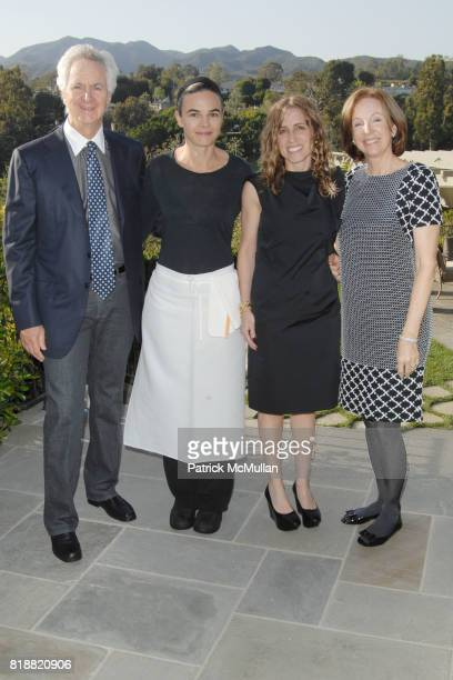 Ric Kayne Suzanne Goin Caroline Styne and Suzanne Kayne attend The 25th Annual LACMA Collectors Committee Weekend An Intimate Dinner at the Home of...