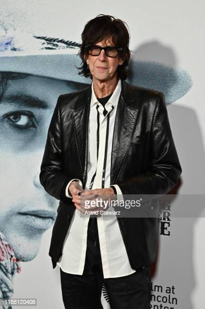 Ric Ocasek attends the world premiere of Netflix's ROLLING THUNDER REVUE: A BOB DYLAN STORY BY MARTIN SCORSESE at Alice Tully Hall on June 10, 2019...