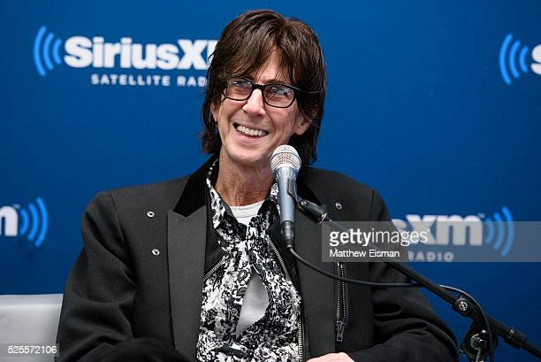 Ric Ocasek of The Cars attends the SiriusXM 'Town Hall' with The Cars: Town Hall to air on SiriusXM's 80's on 8 at SiriusXM Studio on April 28, 2016...