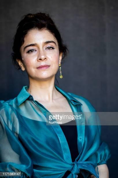 Érica Rivas poses during 67th San Sebastian Film Festival on September 26 2019 in San Sebastian Spain