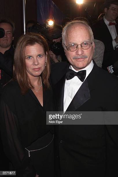 Ricahrd Dreyfuss with his wife Janelle at the New York Friar's Club Roast of Rob Reiner The roast was presented by Comedy Central