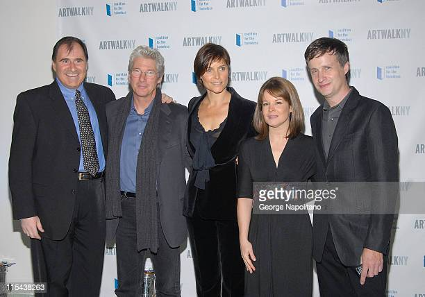 Ricard Kind Richard Gere Carey Lowell Mary Brosnahan Sullivan Coalition for the Homeless Executive D irectorand honoree Donald Baechler and Richard...