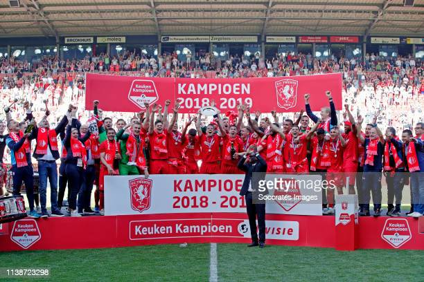 Ricardinho da Silva of FC Twente, Xandro Schenk of FC Twente, Nacho Monsalve of FC Twente, Michael Maria of FC Twente, Wout Brama of FC Twente, Aitor...