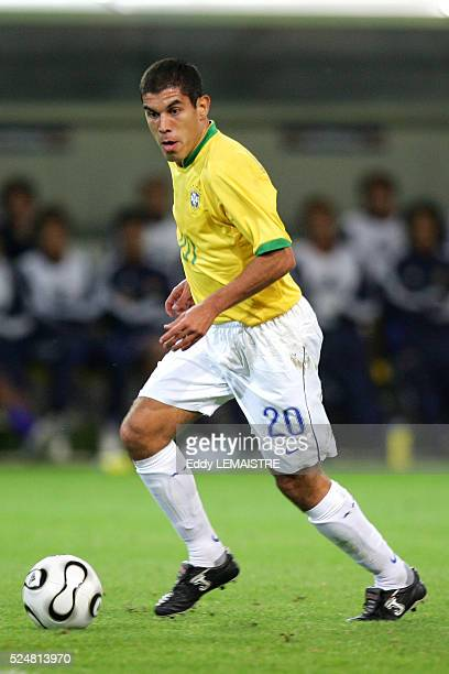Ricardinho during the 2006 FIFA World Cup match between Japan and Brazil in Dortmund Germany