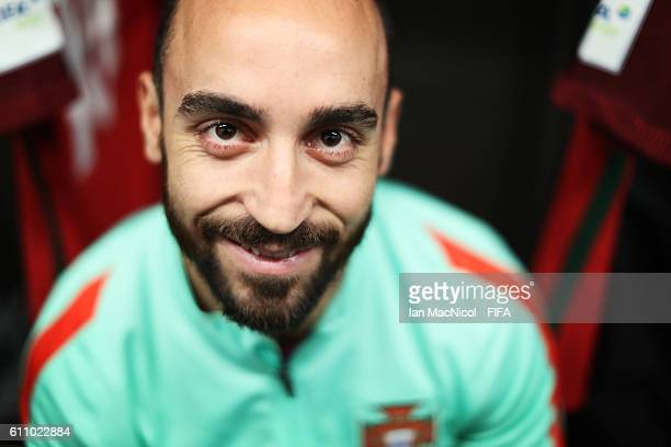 Ricardinho of Portugal is seen in the dressing room prior to the FIFA Futsal World Cup Semi Final match between Argentina and Portugal at the Coliseo...