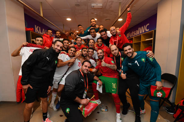 LTU: Portugal v Morocco: Group C - FIFA Futsal World Cup 2021