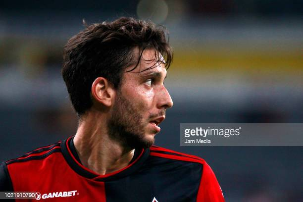 Ricardo Alvarez of Atlas looks on during the fifth round match between Atlas and Morelia as part of the Torneo Apertura 2018 Liga MX at Jalisco...
