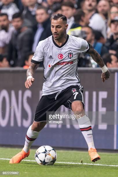 Ricardo Andrade Quaresma Bernardo of Besiktas JK during the UEFA Champions League round of 16 match between Besiktas AS and Bayern Munchen at the...