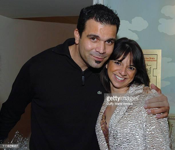 Ricardo Antonio Chavira of Deperate Houswives and Cathy Areu Catalina Magazine publisher