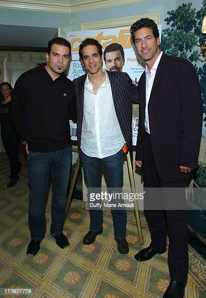 Ricardo Antonio Chavira of Desperate Housewives Yul Vazquez of War of the Worlds and Eduardo Xol of Extreme Makeover Home Edition