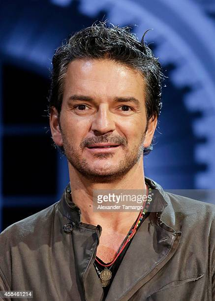 Ricardo Arjona attends a press conference at American Airlines Arena on November 5 2014 in Miami Florida