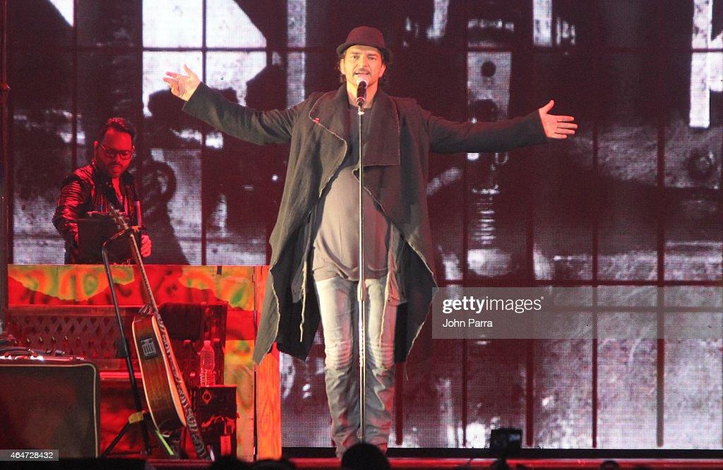 Ricardo Arjona Performs At American Airlines Arena