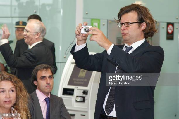 Ricardo Bofill Jr attends the T1 Terminal official opening at El Prat Airport on June 16 2009 in El Prat de Llobregat Spain The new terminal is...