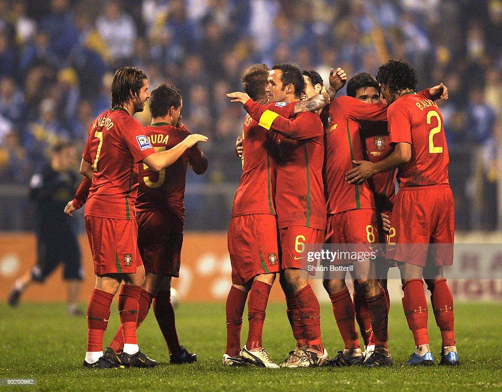 Bosnia-Herzegovina v Portugal - FIFA 2010 World Cup Qualifier