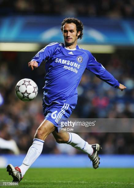 Ricardo Carvalho of Chelsea in action during their UEFA Champions League group A match against Levski Sofia at Stamford Bridge on December 05 2006 in...