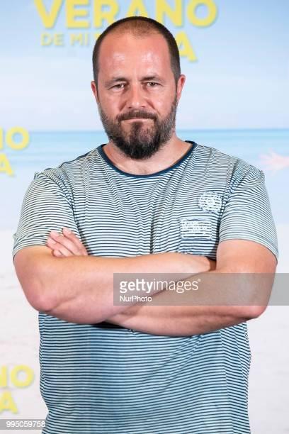 Ricardo Castella attends to presentation of quotEl mejor verano de mi vidaquot at Intercontinental Hotel in Madrid Spain July 09 2018