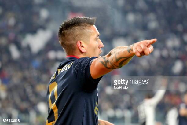 Ricardo Centurion during the Italian Cup football match between Juventus FC and Geona CFC at Allianz Stadium on 20 December 2017 in Turin Italy...