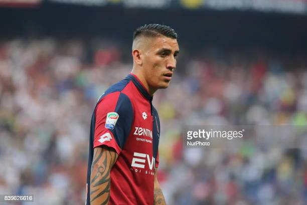 Ricardo Centurion during the Serie A football match between Genoa CFC and Juventus FC at Luigi Ferraris stadium on august 26 2017 in Genoa Italy