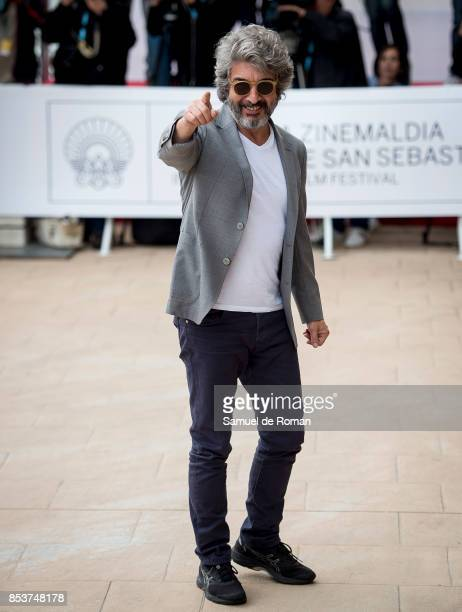 Ricardo Darin is seen arriving at 65th San Sebastian Film Festival on September 25 2017 in San Sebastian Spain