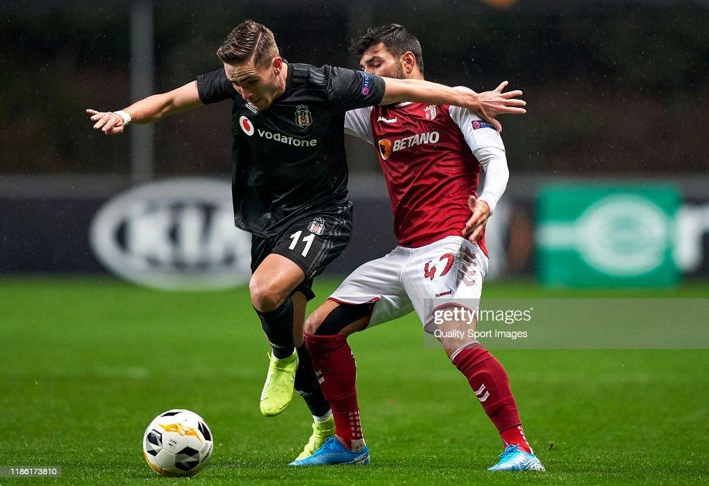 Sporting Braga v Besiktas: Group K - UEFA Europa League : News Photo
