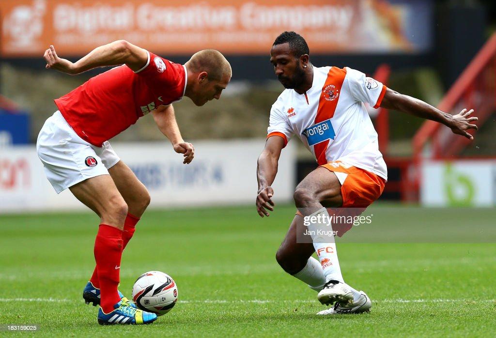 Charlton Athletic v Blackpool - Sky Bet Championship