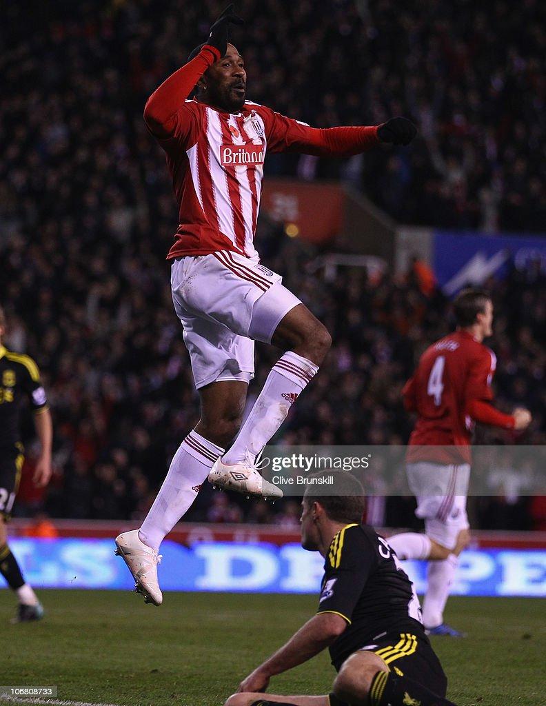 Stoke City v Liverpool - Premier League : Nachrichtenfoto