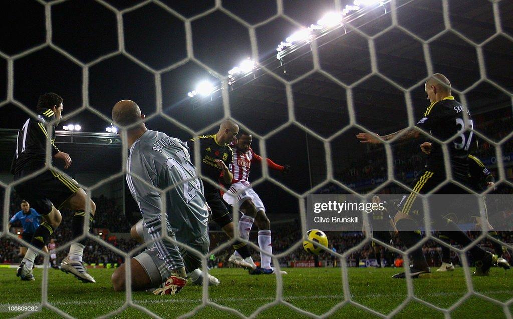 Stoke City v Liverpool - Premier League : Foto jornalística