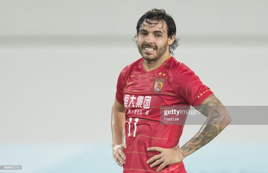 Guangzhou Evergrande v Tianjin Quanjian - AFC Champions League Round Of 16 2nd Leg : ニュース写真