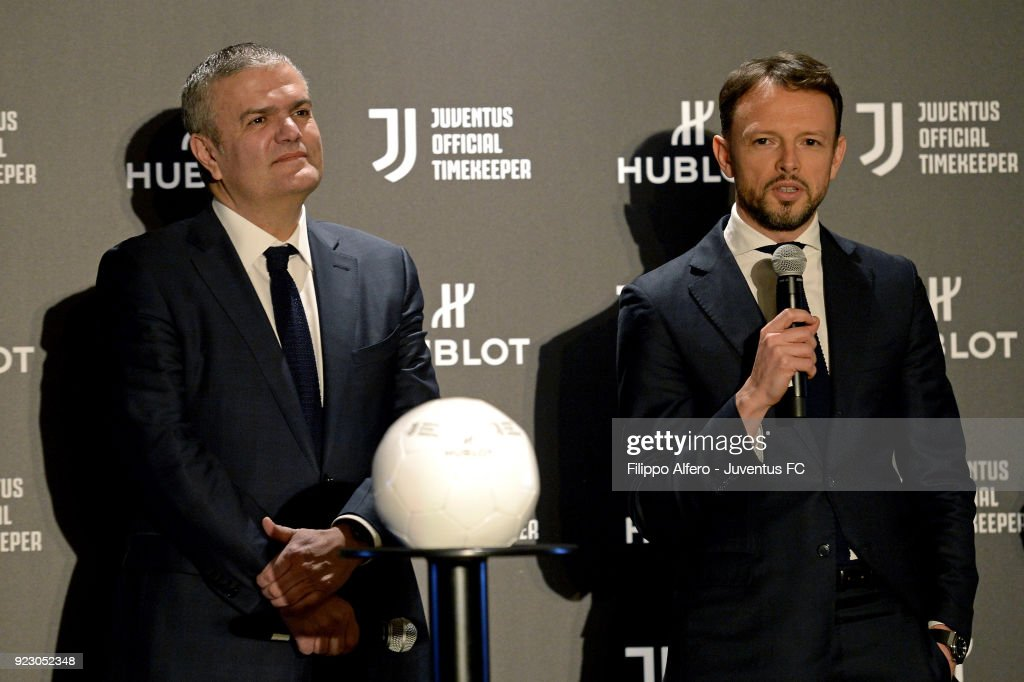 Hublot Renews Partnerhip With Juventus : News Photo