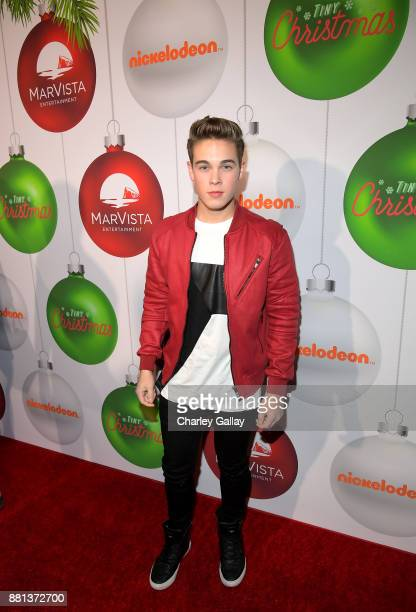 Ricardo Hurtado at the premiere of The Nickelodeon Movie 'Tiny Christmas' on November 28 2017 in Hollywood California