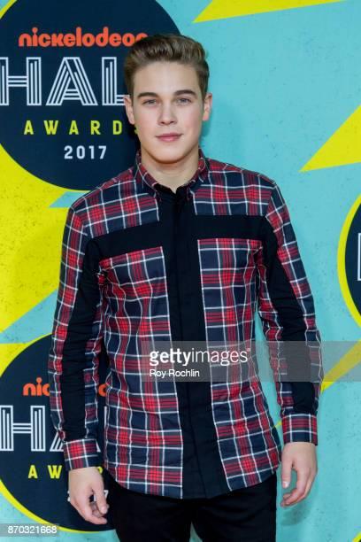 Ricardo Hurtado attends the 2017 Nickelodeon Halo Awards at Pier 36 on November 4 2017 in New York City