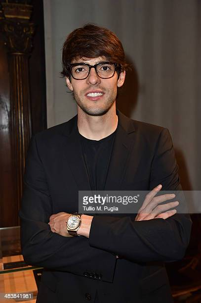 Ricardo Kaka attends the Audemars Piguet Royal Oak Offshore exibition as part of Untold event at Palazzo Bagatti Valsecchi on April 10 2014 in Milan...