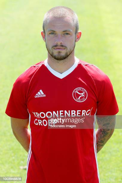 Ricardo Kip of Almere City during the Photocall Almere City at the Yanmar Stadium on July 16 2018 in Almere Netherlands
