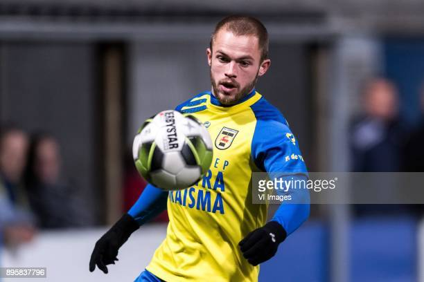 Ricardo Kip of SC Cambuur during the Dutch Cup third round match between SC Cambuur Leeuwarden and GVVV at the Cambuur Stadium on December 19 2017Sc...