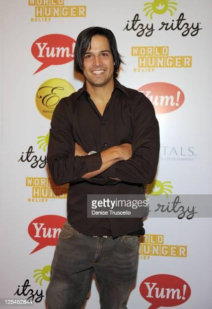 Ricardo Laguna attends World Hunger Relief Fundraiser for UN World Food Program at Eve Nightclub on October 11 2010 in Las Vegas Nevada