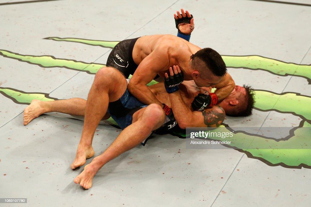 UFC Fight Night: Lamas v Elkins : News Photo