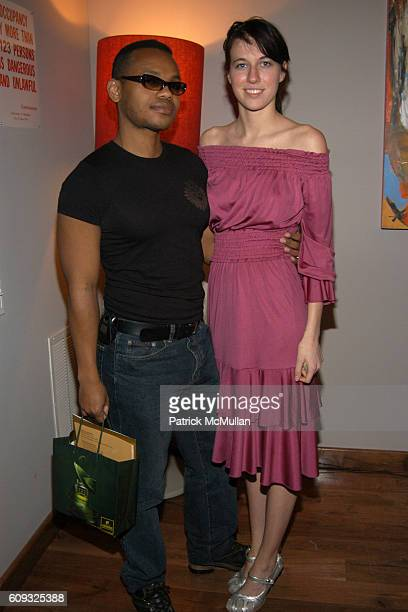 Ricardo Louis and Natalie White attend HOUSE de LUX Fall 2007 Women's ReadytoWear Collection at SoHo House on March 8 2007 in New York City