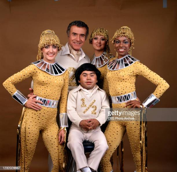 "Ricardo Mantalban and Herve Villechaize star In the ""The Second Annual National Collegiate Cheerleading Championships, April 16, 1979."