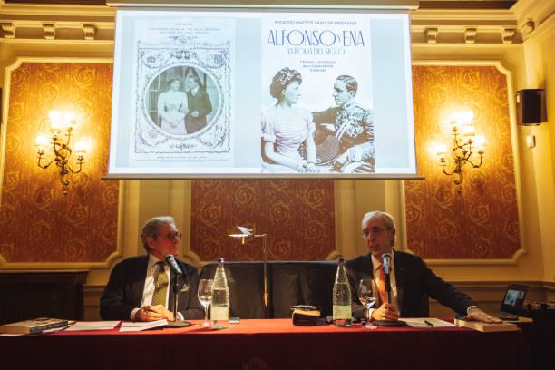 ESP: Ricardo Mateos Sainz de Medrano Presents His Latest Book In Barcelona