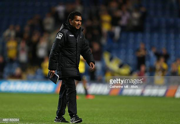 Ricardo Moniz manager of Notts County after the Sky Bet League Two match between Oxford United and Notts County at Kassam Stadium on August 18 2015...