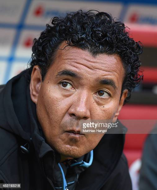 Ricardo Moniz of 1860 Muenchen looks on before the Second Bundesliga match between 1 FC Kaiserslautern and TSV 1860 Muenchen at FritzWalterStadion on...
