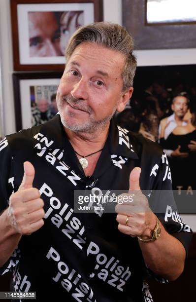 Ricardo Montaner attends a release for his new album titled Montaner at Cafe Ragazzi on May 22 2019 in Miami Florida