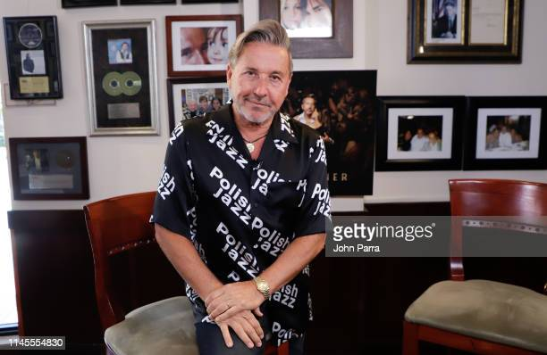 Ricardo Montaner New Album Release Montaner at Cafe Ragazzi on May 22 2019 in Miami Florida
