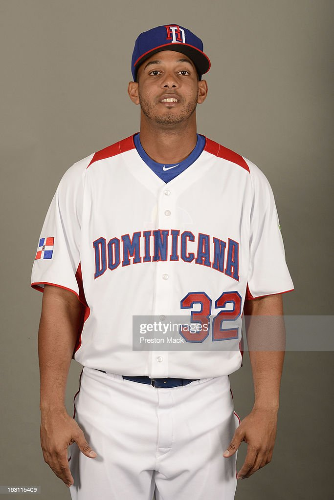Ricardo Nanita #32 of Team Dominican Republic poses for a headshot for the 2013 World Baseball Classic on March 4, 2013 at George M. Steinbrenner Field in Tampa, Florida.